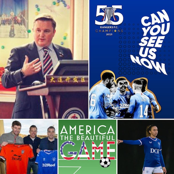 Matchday 1 - Gary Gibson, Head of Soccer Academies and International Relations Rangers FC