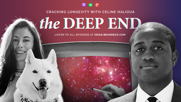 Cracking Longevity with Celine Halioua, Founder and CEO of Loyal Image