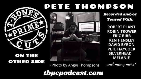 Episode #2 - Drummer Pete Thompson