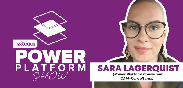 Power Platform Consultant Fighting Cancer with Sara Lagerquist