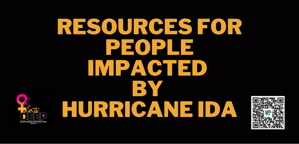 Resource List For People Impacted by Hurricane Ida