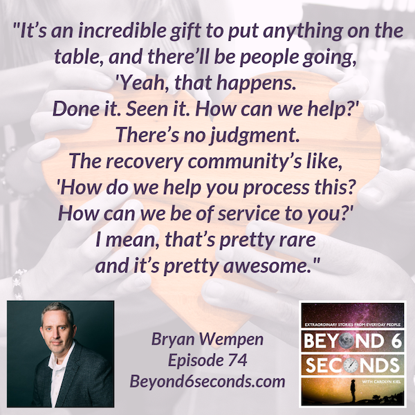 Episode 74: Bryan Wempen – Sober Is Better Image