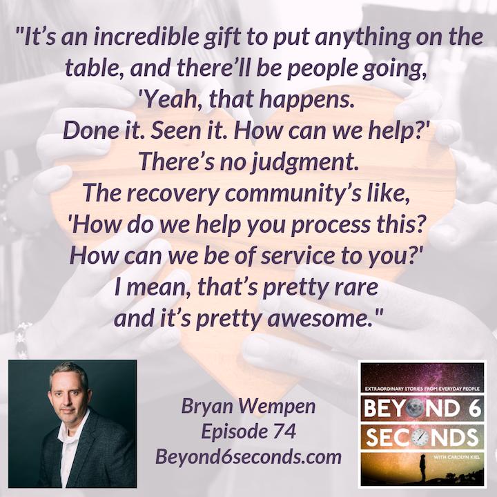 Episode 74: Bryan Wempen – Sober Is Better