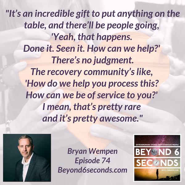 Episode 74: Bryan Wempen – Sober Is Better Image