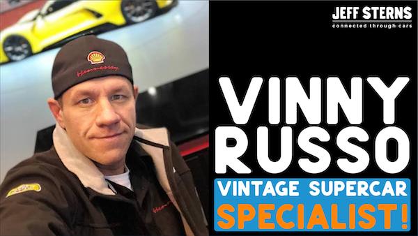 VINNY RUSSO- Supercar restorer. Lamborghini, Maserati, Spyker, Hennessey- former exec Image