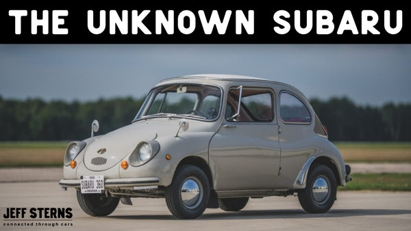 THE UNKNOWN SUBARU- Malcolm Bricklin needed a scooter replacement. In Japan he saw a little car... Image