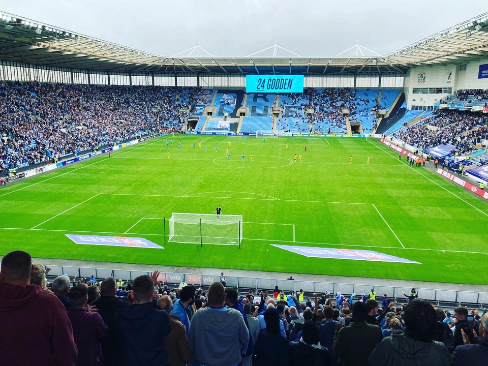 Total Cov Blog #6 - Coventry City 2-1 Reading, 21.08.2021.