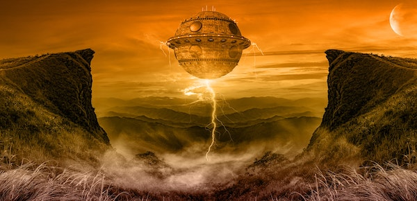 Did Aliens Part The Red Sea? Image