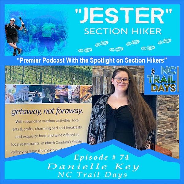 Episode #74 - Danielle Key (NC Trail Days)