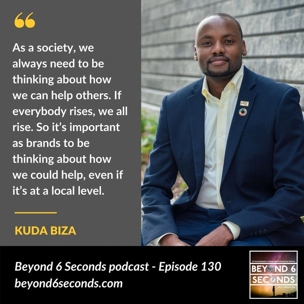 Episode 130: Making social impact through business -- with Kuda Biza