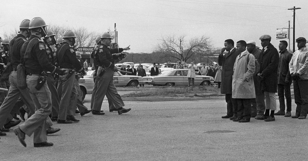 Bloody Sunday Protest, March 7, 1965 in Selma Alabama