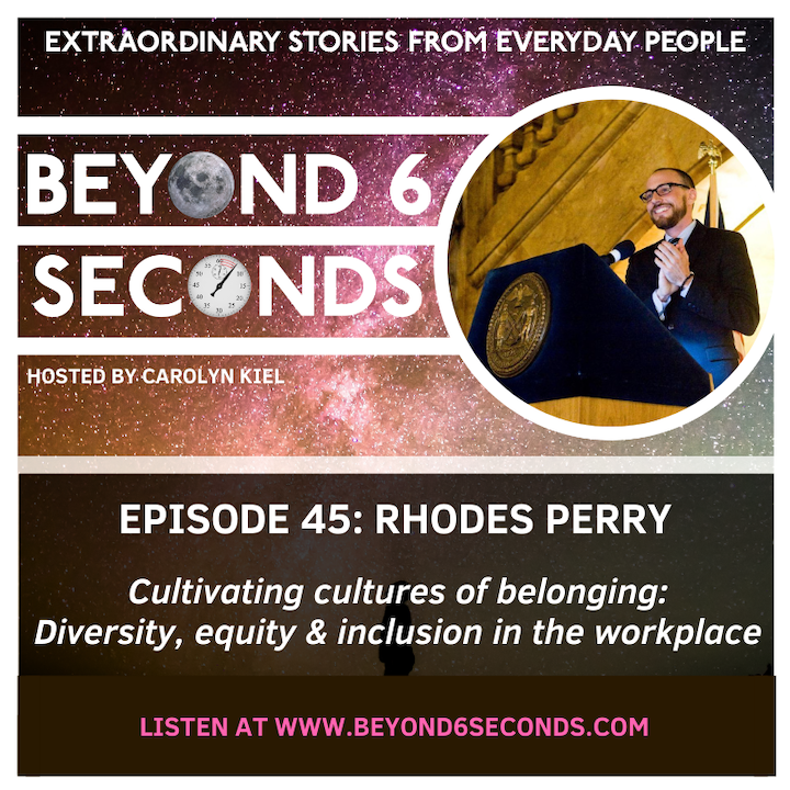 Episode 45: Rhodes Perry – Cultivating workplace cultures of belonging