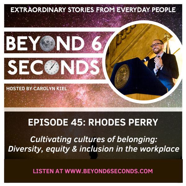 Episode 45: Rhodes Perry – Cultivating workplace cultures of belonging Image