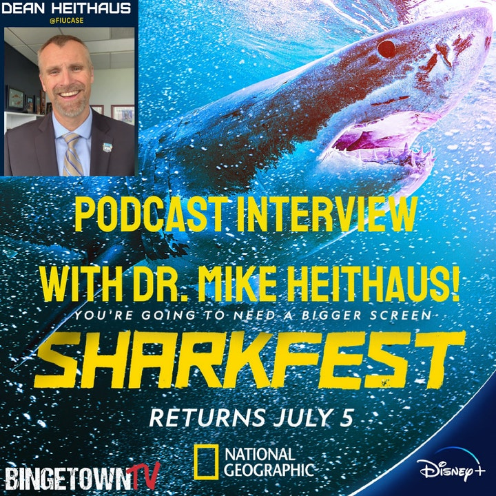 E125 Interview with Marine Biologist and Shark Expert Dr. Mike Heithaus!