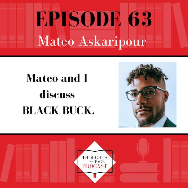Mateo Askaripour - BLACK BUCK