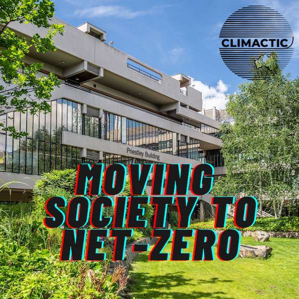 Priestley Centre | Moving society to net-zero Image