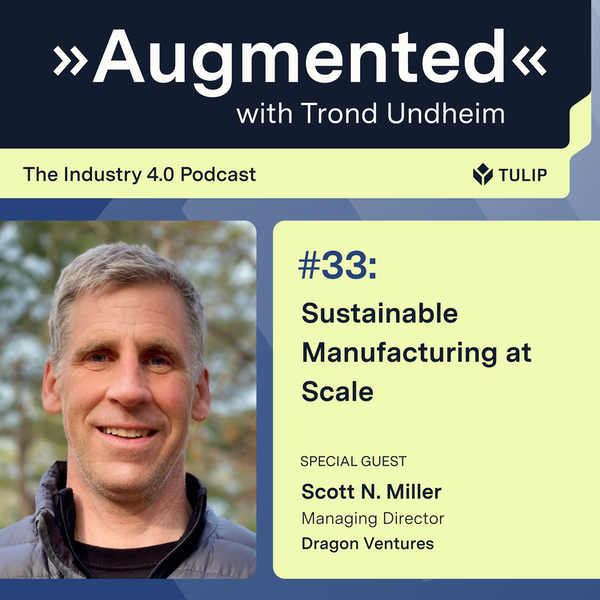 Sustainable Manufacturing at Scale Image
