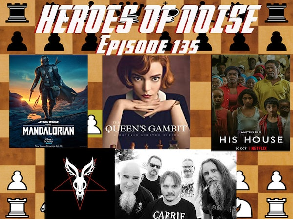Episode 135 - The Mandalorian S2E01, His House, Mr Bungle Raging Wrath Of The Easter Bunny Demo, and The Queen's Gambit Image