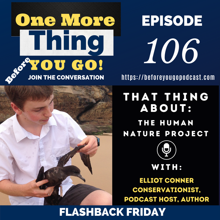 That Thing About Human Nature - FLASHBACK FRIDAY