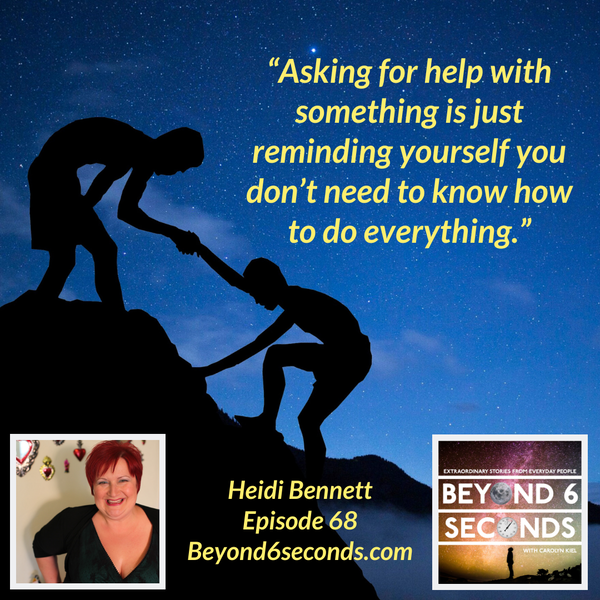 Episode 68: Heidi Bennett – Bringing multi-creative dreams to life Image