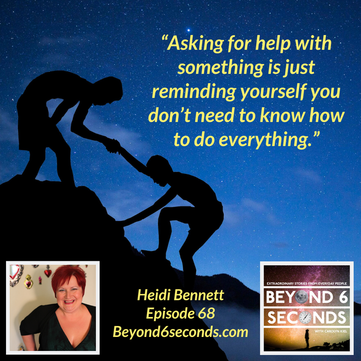 Episode 68: Heidi Bennett – Bringing multi-creative dreams to life