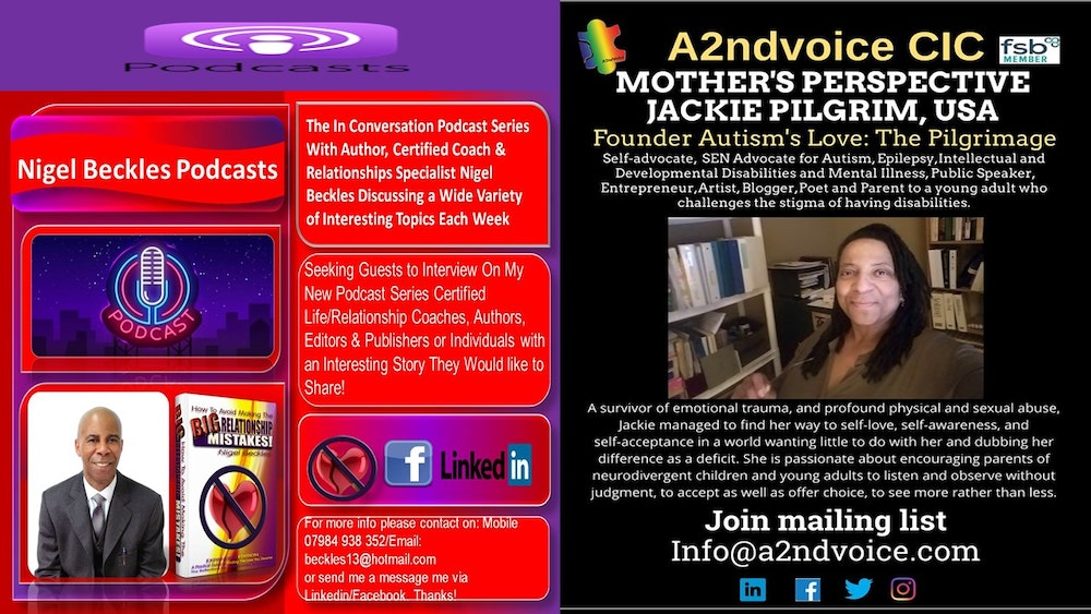In Conversation with Mental Health Awareness Advocate Jackie Pilgrim