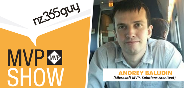 Andrey Baludin on The MVP Show