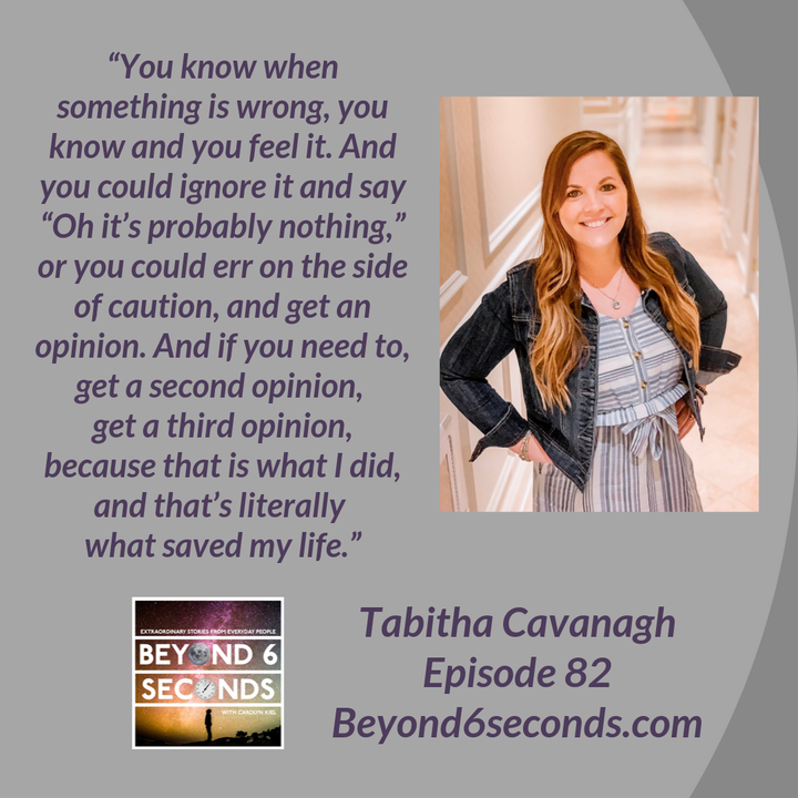 Episode 82: How a StrongAssMindset can overcome colon cancer and other challenges in life -- with Tabitha Cavanagh