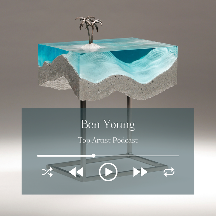 Sculptor Ben Young on His Glass and Concrete Sculptures and Creative Process