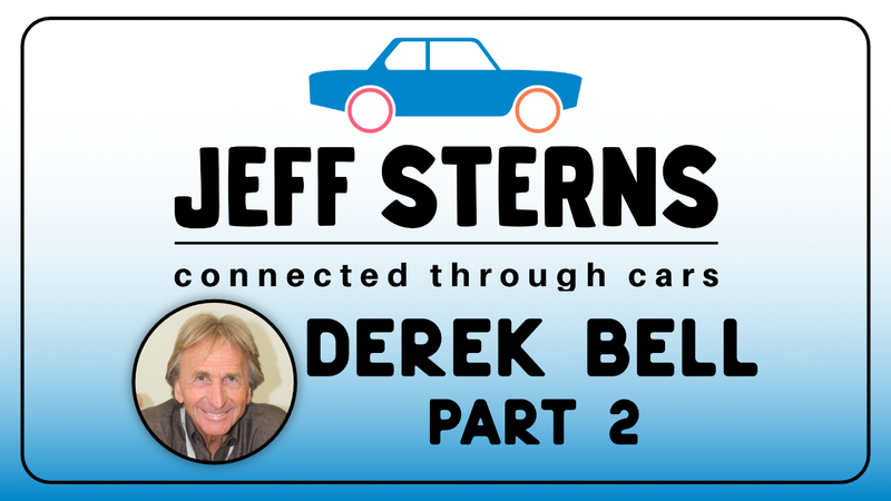 Episode image for DEREK BELL Part2. Le Mans 24 and Sun Bank 24 winner! Steve Mcqueen consultant. Ford V. Ferrari