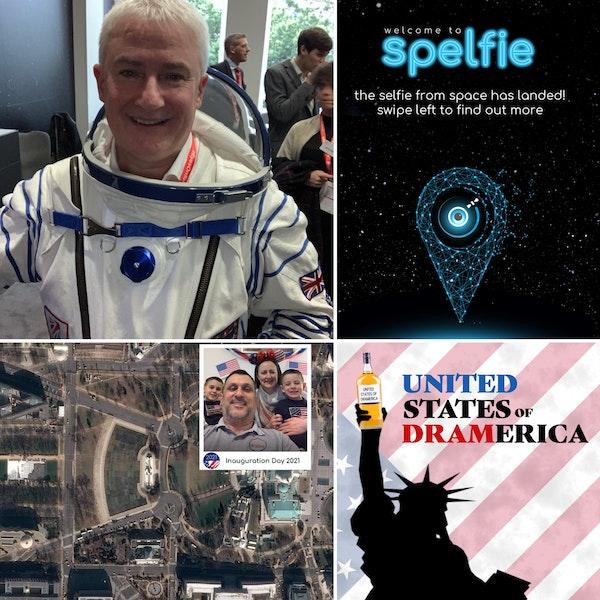 Episode 64 - Chris Newlands, founder of Spelfie, the space selfie company