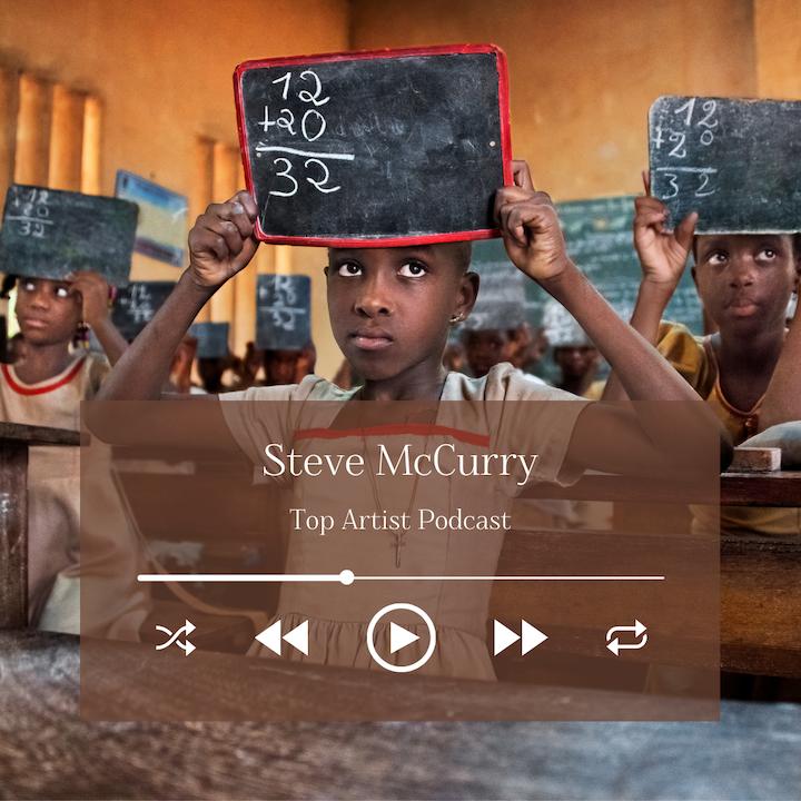 Legendary Photographer Steve McCurry on His Illustrious Career and New Book