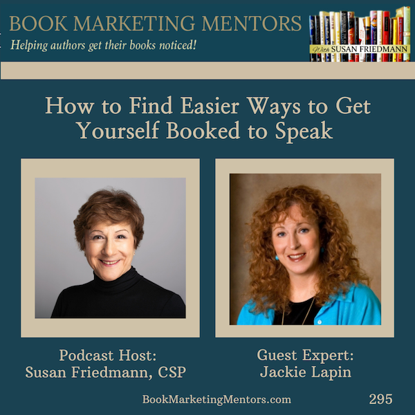 How to Best Find Easier Ways to Get Yourself Booked to Speak - BM295 Image