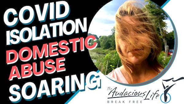 COVID Isolation has Domestic Abuse SOARING Image