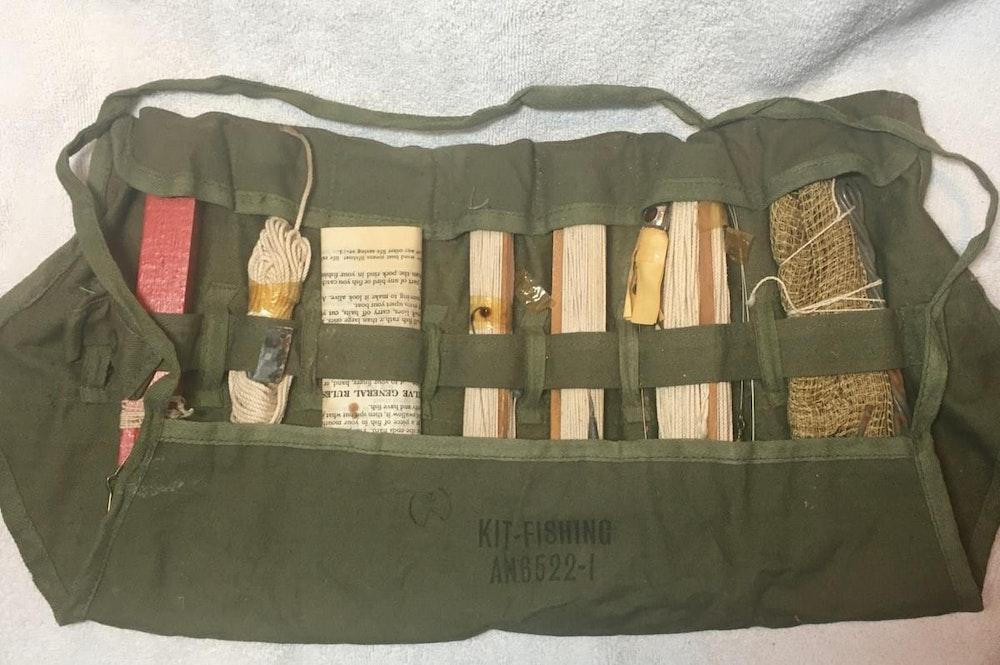 WW2 Emergency Fishing Kit