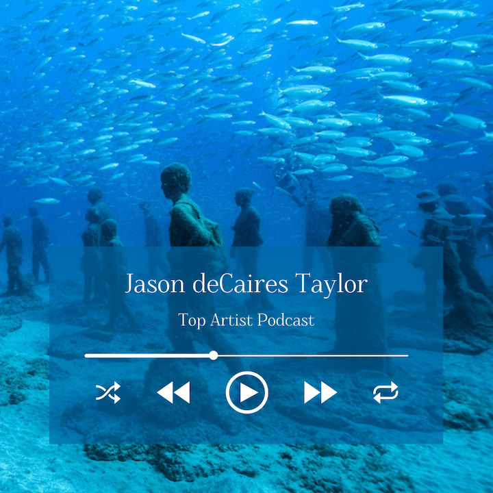 Sculptor Jason deCaires Taylor on His Underwater Sculptures and Environmental Art