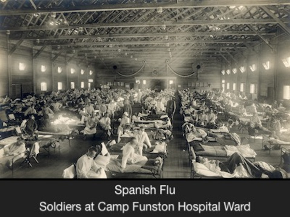 The Spanish Flu Epidemic of 1918 and Church Services