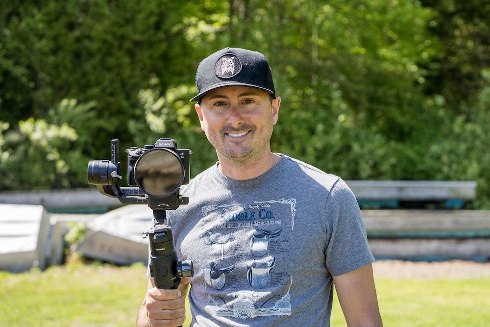 Photographer and videographer Frank DiNardi
