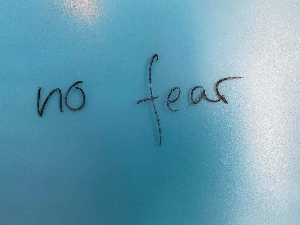 these two mentalities will help you overcome your Fears: 5 for 5,000.