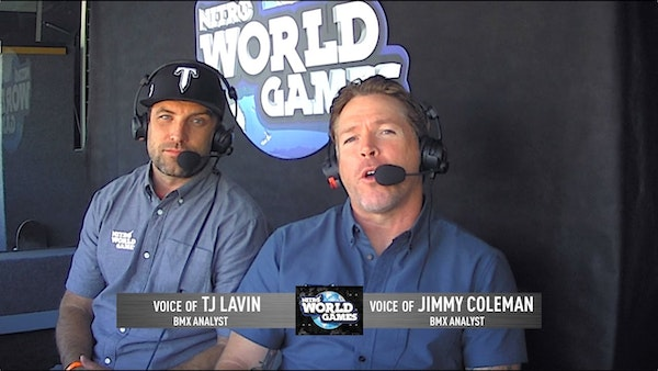 S2E06 - X Games and Nitro World Games announcer, Jimmy Coleman