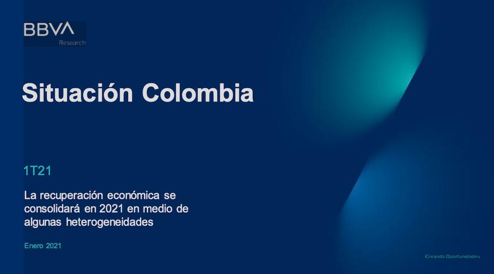 Recuperación económica se consolidará en 2021 pero no será igual para todos: BBVA Research #SituaciónColombia