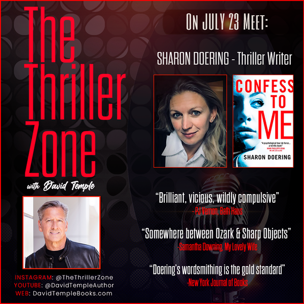 Thriller Writer Sharon Doering is the author of CONFESS TO ME Image