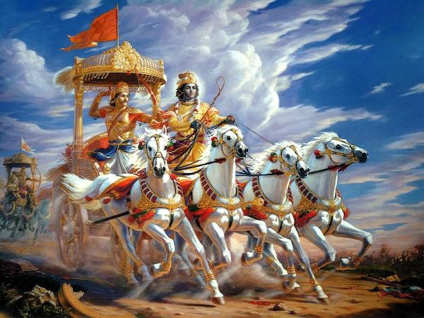 Read with Me: The Bhagavad Gita Image