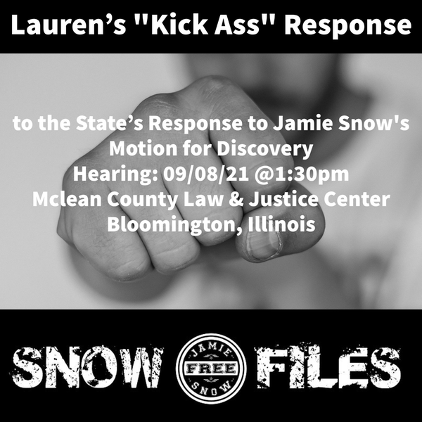 S2-EP36: Lauren's Kick Ass Response to the State's Response to the Motion for Discovery