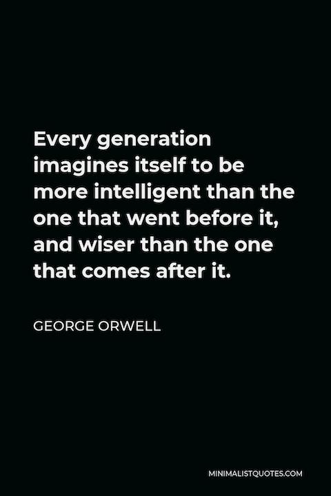 Mind the Generation Gap