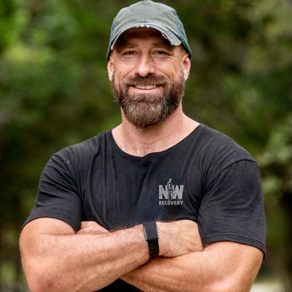 E122 Navy Seals, CBD, and Getting Naked with William Branum   Mental Health Podcast Image