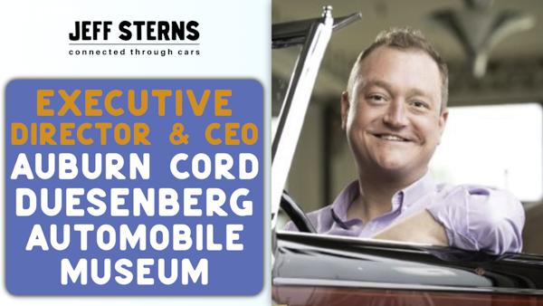 LUCKIEST JOB IN AUTOMOTIVE?!? | AUBURN CORD DUESENBERG AUTOMOBILE MUSEUM | CEO | Brandon Anderson Image