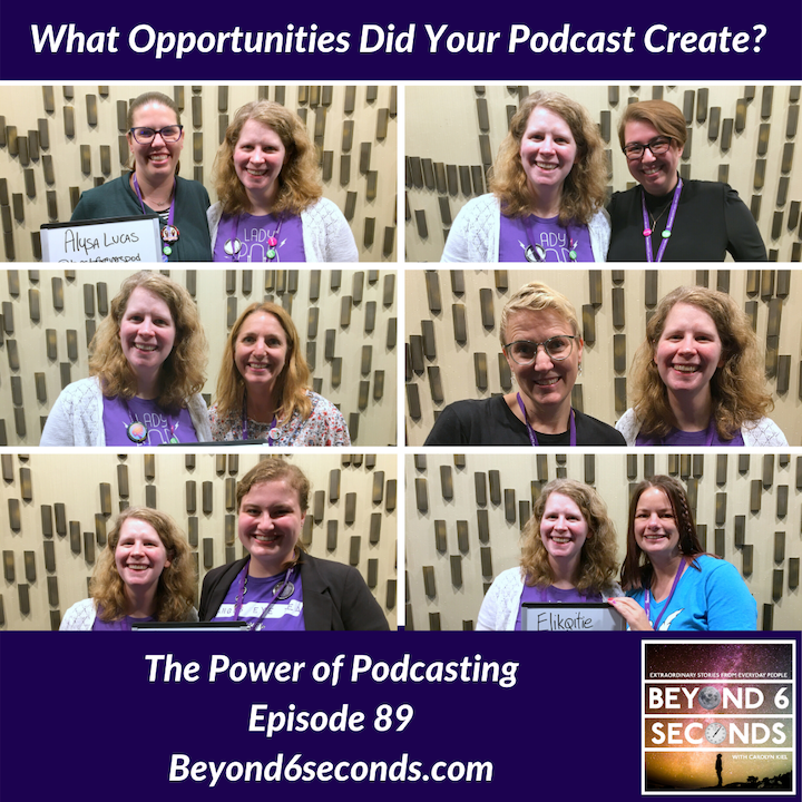 Episode 89: The Power of Podcasting (Recorded from She Podcasts Live in October 2019)