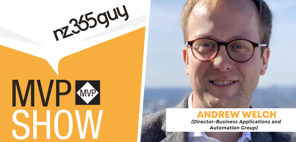 Andrew Welch on The MVP Show
