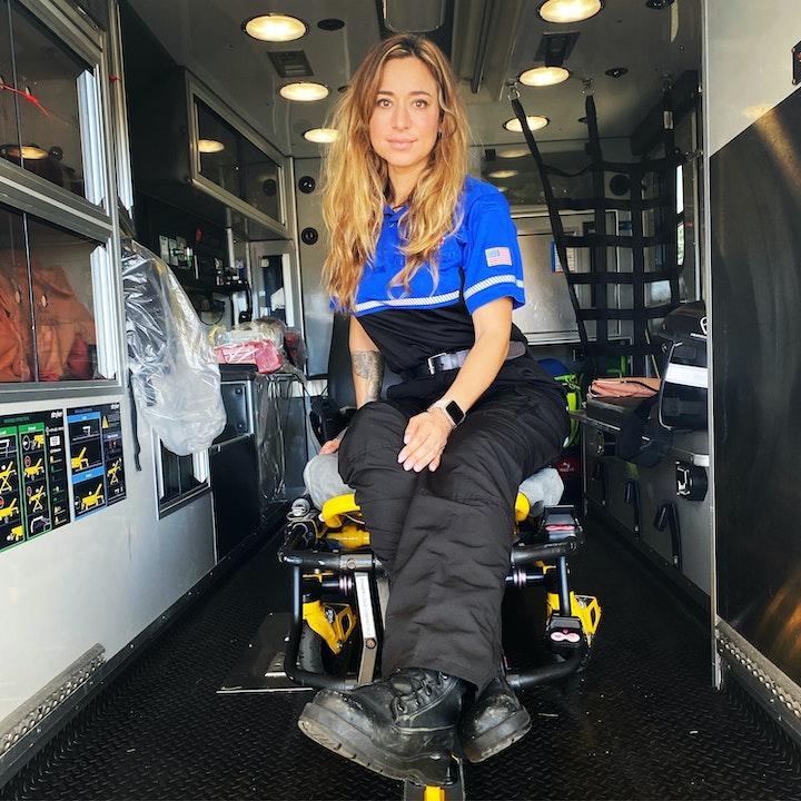 Episode image for Ambulance Tech Side of EMS- Rocio Calenda